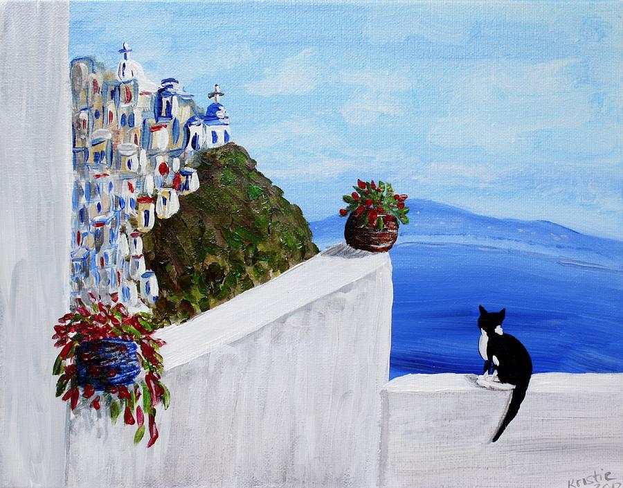 Yunan kedi Yunanistan cat